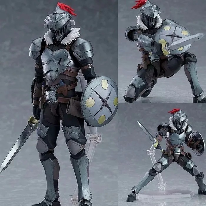 NEW Figure Figma 424 Goblin Slayer Articulated PVC Action Figure Collection Model Toys Doll Gift 15cm