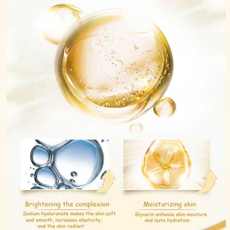 Nuova Iniezione di Acido Ialuronico Viso Siero Liquido Calzamaglie Anti-Rughe Anti Invecchiamento Collagene Facail Essenza Idratante Sbiancamento
