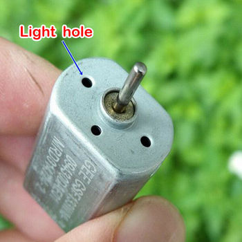 Electric 130 Motor DC 12V-24V 18V Micro Mini Motor High Speed Strong Magnetic Precious Metal Brush DIY Four Wheeler Toy Car Boat image