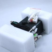 Dikdörtgen akıllı 72V 150A fırçasız motor sinüs dalga denetleyici ebike fırçasız sinüs dalga denetleyici