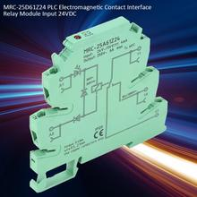 цена на MRC-25A61Z24 PLC Electromagnetic Contact Interface Relay Module Input 24V DC output 250V AC Ultra-thin PLC relay