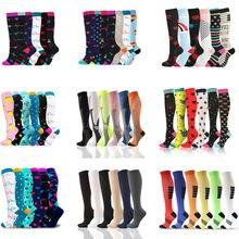 Dropship unisex meias de compressão por atacado multi pares meias de futebol tubo golfs esportes ao ar livre enfermagem correndo fitness meias