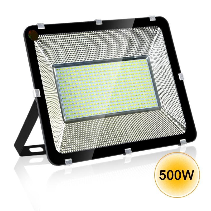 100W/300w/500w Led Floodlight Ip65 Waterproof Of Flood Light Outdoor AC220V Spotlight Led Spotlight Reflector Spot Led Exterieur