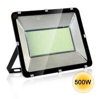 Holofote led 100w/300w/500w  à prova d' água ip65  para piscina  para áreas externas  ac220v  holofote led ponto refletor led exterior eur