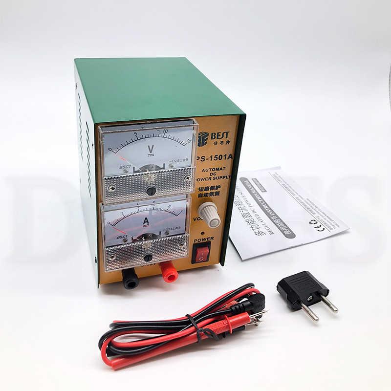 DC regüle güç kaynağı tamir güç kaynağı için cep telefonu tamir aracı BST-1501A