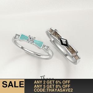 Thaya Silver Engagement Ring F