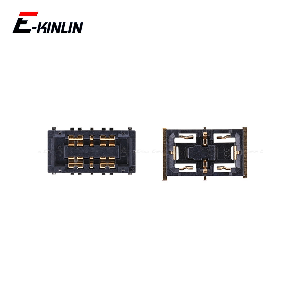 2pcs Battery Connector Contact Holder For <font><b>XiaoMi</b></font> Mi 5X A1 A2 6X <font><b>Redmi</b></font> 5 Plus 6 6A <font><b>Note</b></font> 4 <font><b>4X</b></font> Pro 5 5A 7 Pro On <font><b>Motherboard</b></font> image
