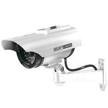 Fake-Camera Bullet-Webcam Security-Cctv Surveillance Outdoor Simulation-Dummy Solar Waterproof