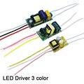 Led treiber 3 farbe AC90 265V 1 3W 4 7W 8 12W Strom 250mA Beleuchtung transformatoren Für Led lampe Netzteil Doppel farbe 3Pin-in Lichttransformatoren aus Licht & Beleuchtung bei