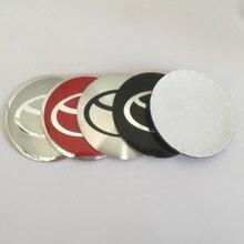 4 pçs 56mm 65mm centro da roda do carro hub caps emblema emblema cobre adesivo acessórios de estilo do carro