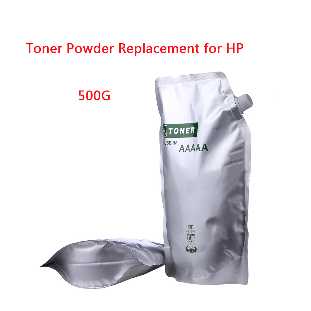 500G Black Toner Powder For HP CB436A 436A 435A 388A 278A CE285A 285A For Canon 328 326 912 325 725 925 313 713 Laser Printers
