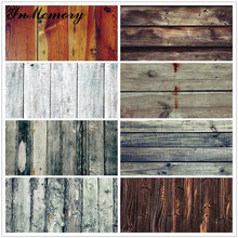 InMemory Wooden Board Photocall Plank Texture Food Portrait Grunge Customized Photography Backdrops For Photo Studio