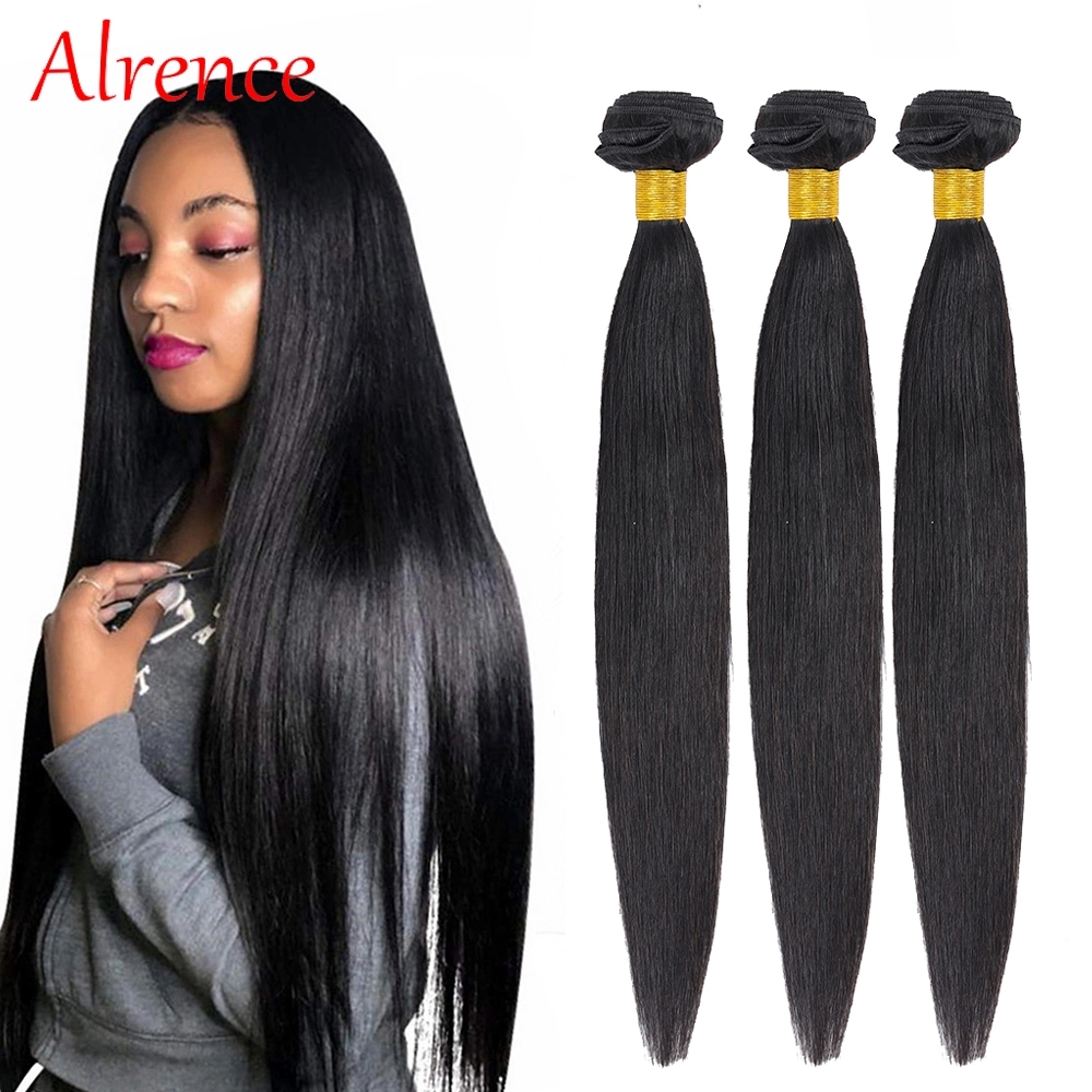 Peruvian Straight Hair Bundles Human Hair Extension 3 Bundles Cabello Natural Human Hair Bundles Straight Weave Cheveux Humain