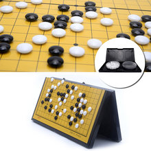 Chinois aller jeu ensemble pierres magnétiques pliant Portable voyage tuer temps jeux enfants jouets deux personnes jeux maison détente