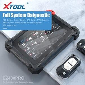 Image 4 - Диагностический инструмент XTOOL EZ400pro OBD2, сканер, автомобильный считыватель кодов, тестер, ключевой программатор ABS, подушка безопасности, SAS, EPB, DPF, масловые функции