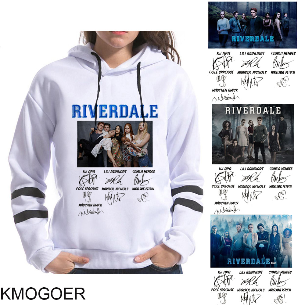 Riverdale Signature Sweatshirt Tv Series Women Sweatshirts Snake Girl Hip Hop Streetwear Harajuku Hoodies Leisure Sudadera Mujer