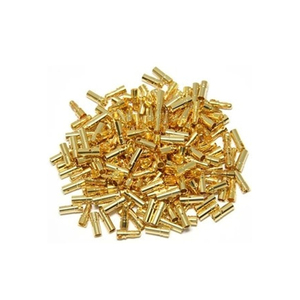 Image 5 - 100 pcs(50 pairs) Gold Bullet Banana Connector Plug 2.0 3.5 4.0 5.0 6.0 mm For Quadcopter Motor ESC Lipo Battery Connecting Part