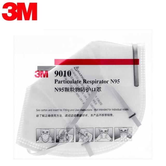 N95 Face Masks 3M 9010 Mascarilla Reutilizable Safety Mask Breathe Freely Headband Masks 3M Original Mascarillas KN95 4