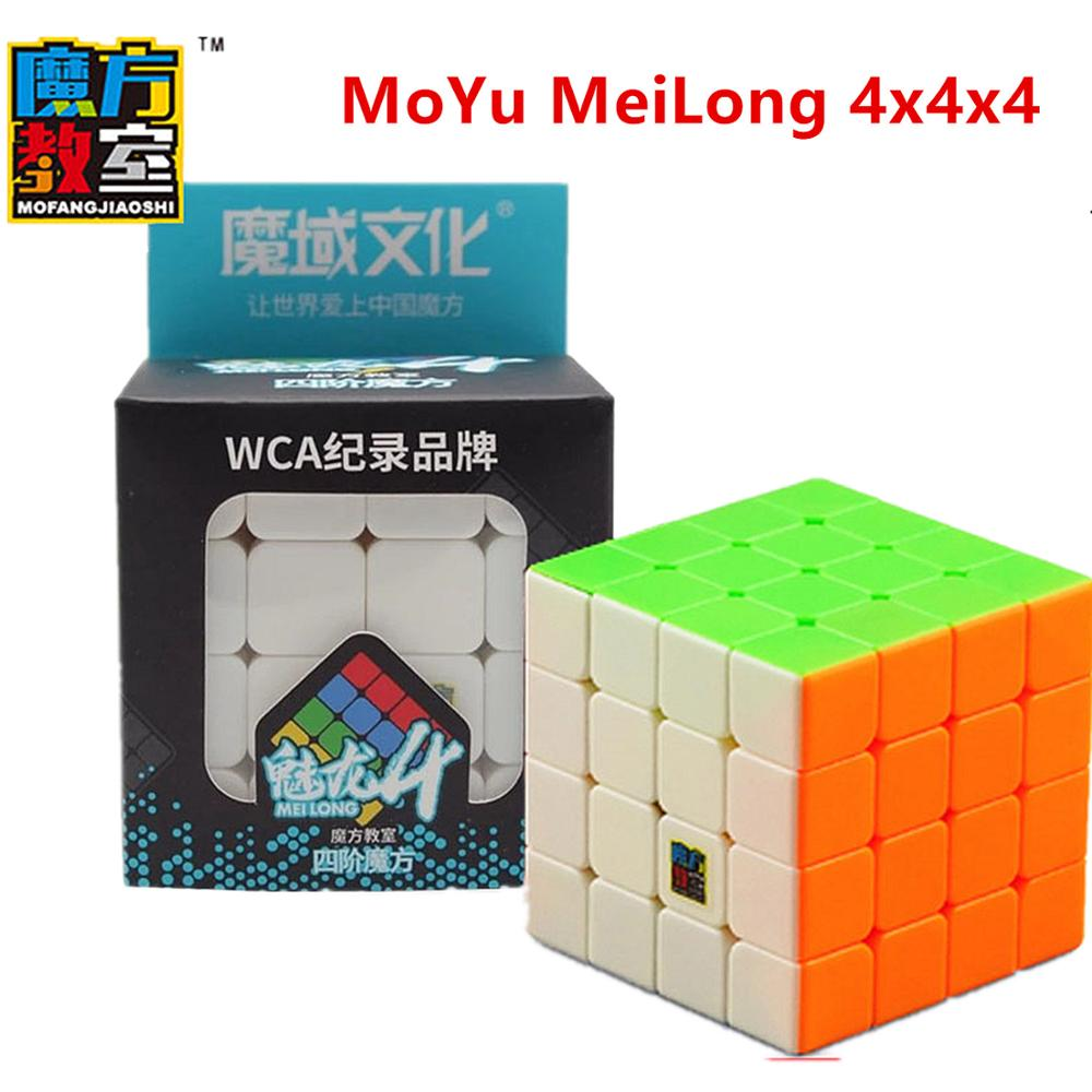 Moyu 4x4x4 Cube Meilong 2x2x2 3x3x3 4x4x4 5x5x5 Magic Cube MEILONG 4x4x4 Speed Cube Moyu 4x4 Cubo Magic 4x4x4 Puzzle Cube