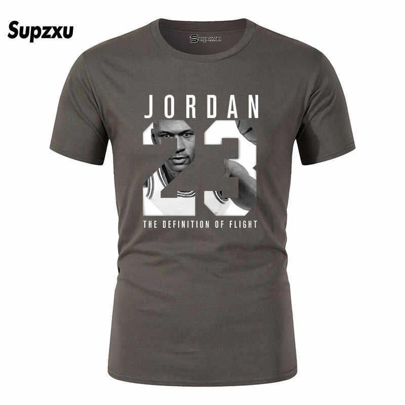 2019 신 남성 요르단 23 인쇄 티셔츠 브랜드 의류 힙합 편지 인쇄 남성 티셔츠 반팔 애니메이션 고품질