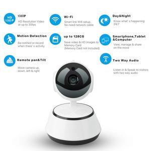 Image 4 - Original 720P IP Kamera Wireless Home Sicherheit IP Kamera Überwachung Kamera Wifi Nachtsicht CCTV Kamera Baby Monitor