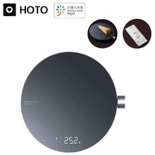HOTO Mini Digital Bluetooth 4.0 Scale 100/300/500/3000g High Accuracy for Jewelry Gram Weight&Kitchen Work with Mijia APP