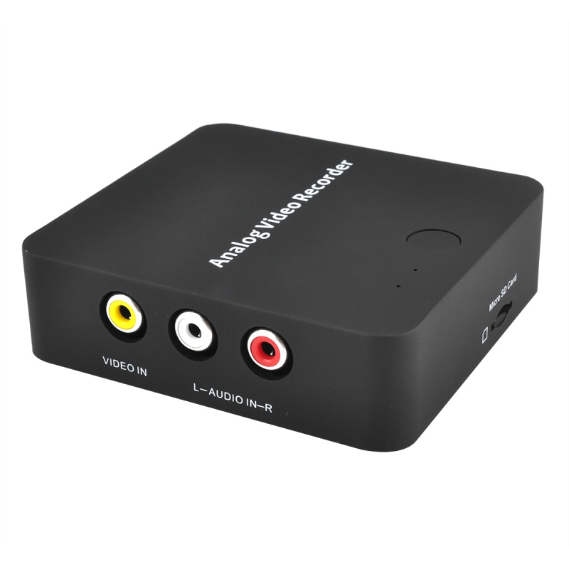 AV Capture Analog To Digital Video Recorder 272 Anolog Video Recorder Audio Video Input AV HDMI Output To Micro SD TF Card