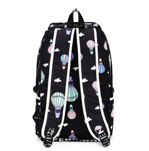 Image 5 - Fashion Female Backpack High Capacity Women Backpack Pattern School Laptop Backpack Teen Girl School Bag