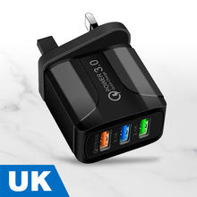 Olaf QC3.0 USB Charger Quick Charge 3.0 Mobile Phone Fast Charging Adapter For iphone Samsung Universal Portable Wall Charger
