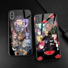 Akatsuki Naruto Anime Phone Case For Apple iPhone SE 6 6s 7 8 plus x xr xs 11 Pro max