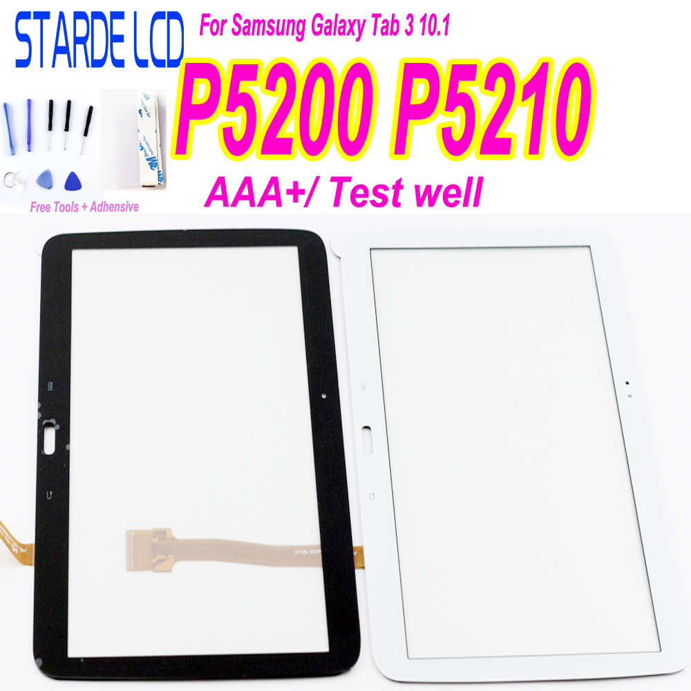 """AAA+ 10.1"""" For Samsung Galaxy Tab 3 GT-P5200 GT-P5210 P5200 P5210 Touch Screen Digitizer Panel Sensor Replacement"""