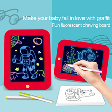 Kid's Magic 3D Pad Children's Drawing Board Hand-painted Pad Colorful Luminous Electronic Writing Boards Graffiti Painting