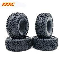 Neumáticos de goma de 1,9 pulgadas y 108mm para RC Crawler TRX-4 Axial SCX10 90047 D90 D110 TF2, 1:10