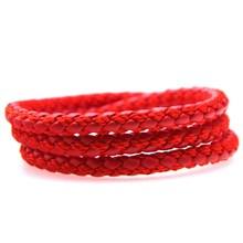 Bracelet Magnetic Wrist-Band Braided Woman Jewelry Trendy 17-Colors Buckle Pulsera Punk Men