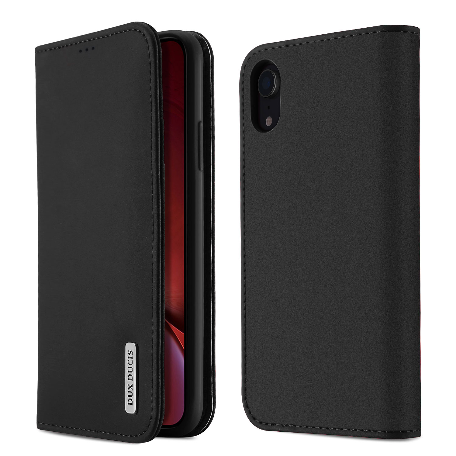 DUX DUCIS Luxury Genuine Leather Wallet Case For Iphone X XS Max XR 6S 7 8 Plus 11 Pro 11Pro Max Card Holder Comfortable Cover