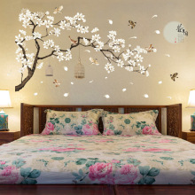 187*128cm Big Size  Wall Decor Stickers Tree Decoration Birds Flower Home Wallpapers DIY Vinyl Rooms