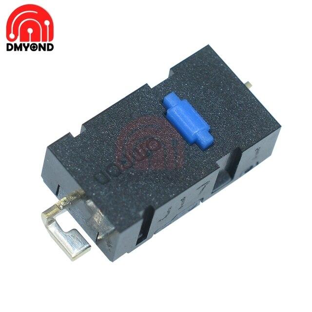 Omron Mouse-Micro bouton de souris bleu | 10 pièces, interrupteur Original, bouton de souris, point pour partout MX Mouse, Logitech M905 remplacer ZIP