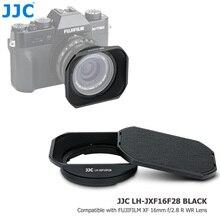 JJC pare soleil carré à baïonnette métallique pour objectif FUJINON XF 16mm F1.4 R WR sur Fuji Fujifilm XPro3 XPro2 XT4 XT3 XT30 remplace LH XF16