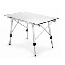 Picnic Table Chair Aluminium-Alloy Outdoor Camping Waterproof BBQ for 90--53cm