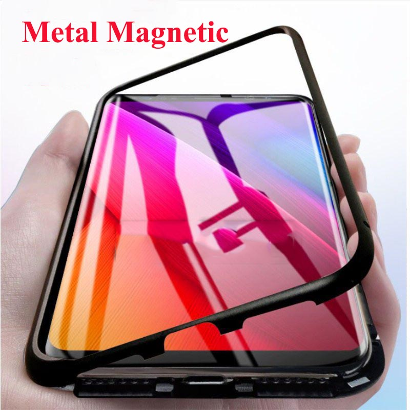 Magnetic Metal Case For Honor 20 Pro 10 Lite Phone Cover For Huawei Nona 3 3i 3E 4E 4 5i 5 Pro P Smart Z Y9 Prime Case Cover