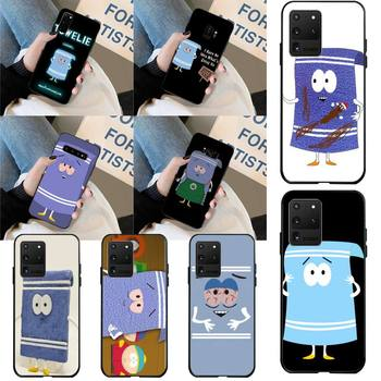 CUTEWANAN New towelie episode Custom Photo Soft Phone Case for Samsung S20 plus Ultra S6 S7 edge S8 S9 plus S10 5G image