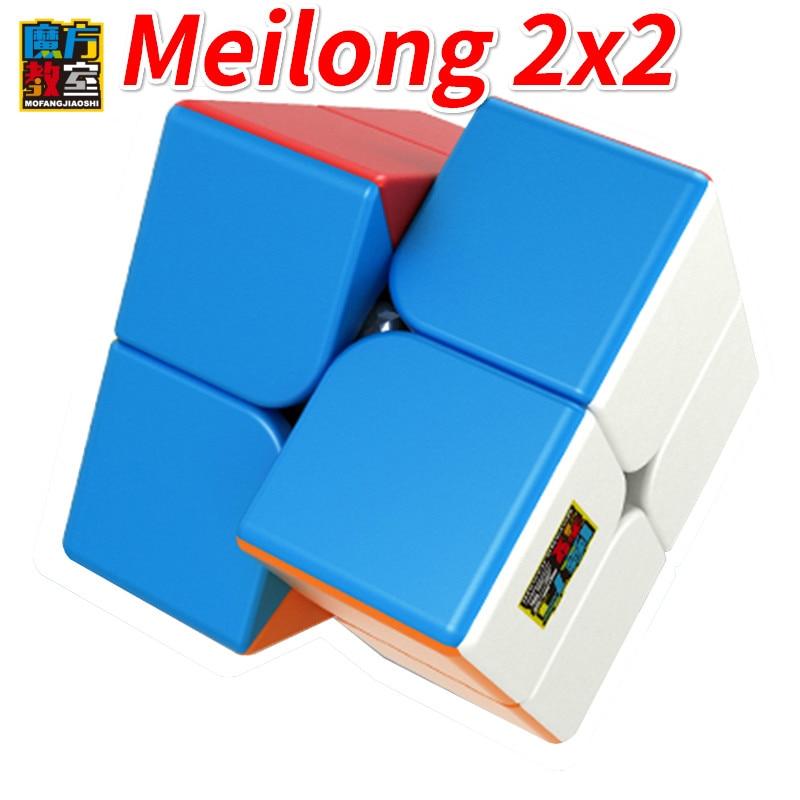New Moyu Cubing Classroom Meilong 2x2 Magic SpeedCube Educational Toys 2x2x2 Magico Cubo Educational Toys Puzzle Cube