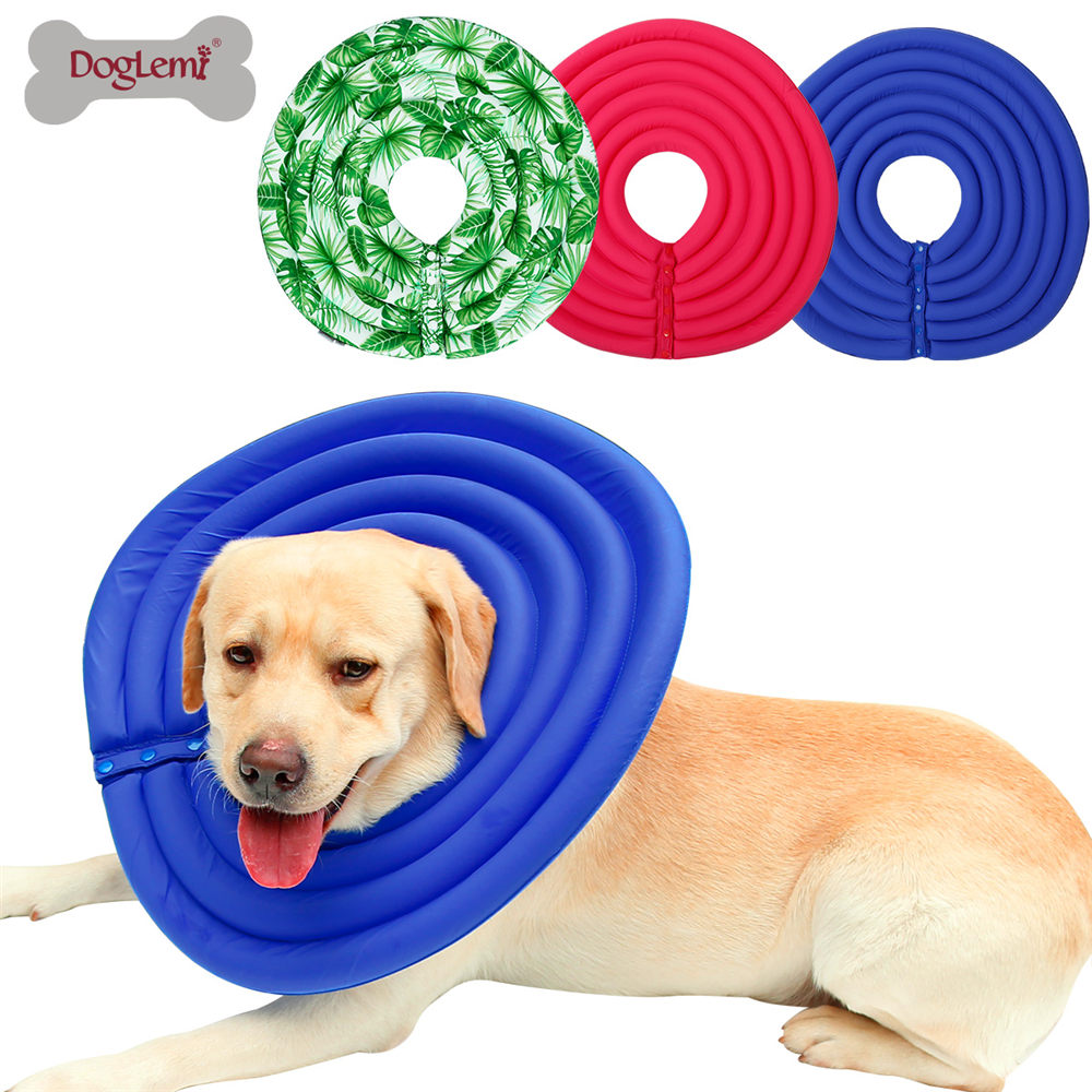 Nylon Protective Medical Cone E- Collar For Small Large Dogs And Cats 1