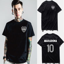 DIEGO ARMANDO MARADONA camiseta XS- XXL BOCA JUNIORS de ARGENTINA de Fútbol NAPOLI T camisa