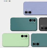 Funda líquida para Xiaomi POCO F3 M3 X3 Pro, Redmi K40, funda trasera de silicona delgada para Xiaomi Redmi Note 9T 9 Pro 5G 9S Max 8