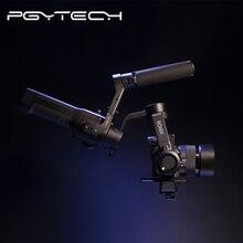 PGYTECH montaje de cámara con empuñadura manual, mango superior con 3 posiciones Allai 1/4 interfaz 2 Adaptador de zapata fría, montaje para DJI Ronin S/SC