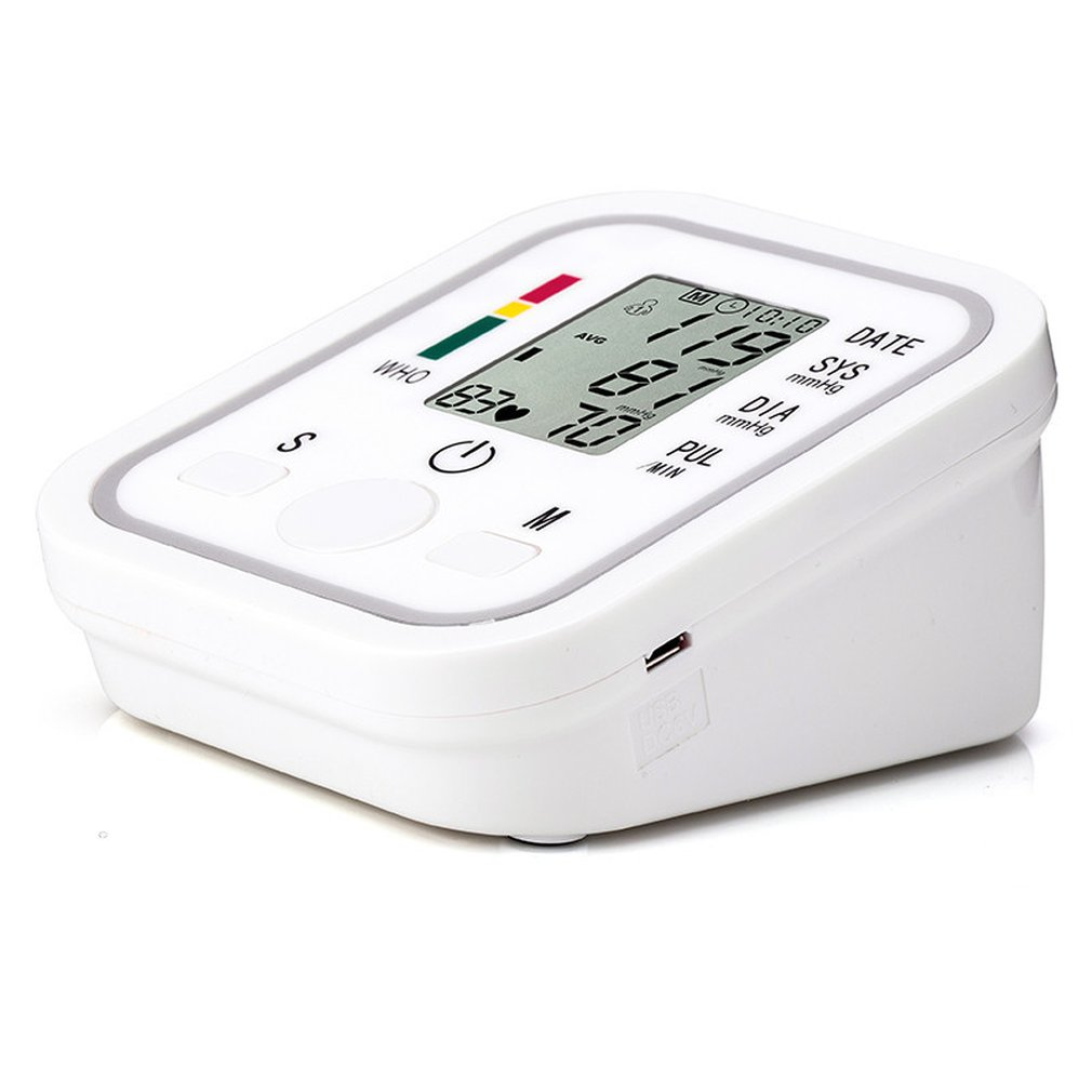 HOT Intelligent Automatic Electronic Blood Pressure Monitor Arm Pulse Measurement Tool Portable Health Care Toiletry Kits