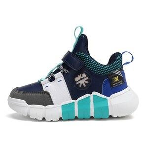 Image 4 - ילדי נעלי ספורט בנים נעלי 2020 סתיו אופנה עור ילדה נעלי החלקה נעלי ריצה עבור בנות סניקרס ילדים