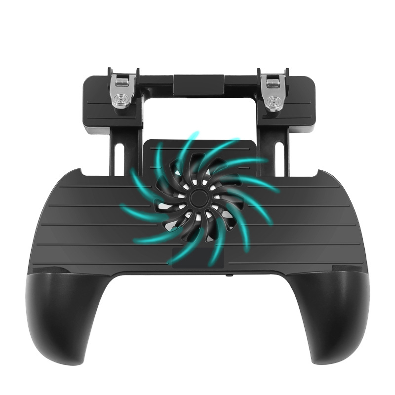 Mobile Game PUBG Controller Gamepad Portable Cooling Fan Mobile Gaming Trigger For PUBG/Fortnite Gaming Grip and Gaming Joystick