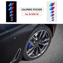 6 шт., автомобильные наклейки для BMW M3 M5 G01 F20 G30 F30 F31 E36 E39 E87 E60 E46 E91 E90 X1 X3